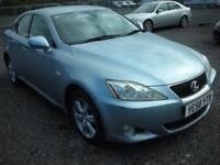 LEXUS IS 2.2 220D 4d 175 BHP (blue) 2008