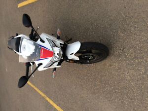 Reduced - Mint Honda Cbr250r with mint Bell RS-1 Helmet