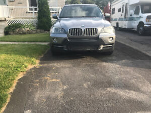 Bmw X5 2007 4.8i Full Equipped Bas Km 120KM!! Tres Propre!!