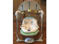 Baby seat Chicco polly swing