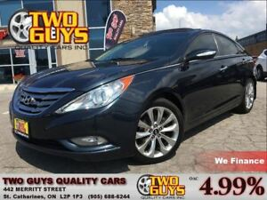2011 Hyundai Sonata 2.0 TURBO LTD NAV LEATHER SUNROOF ALLOYS