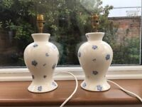Vintage/Shabby Chic Lamp Stands