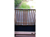 Two Baby Dan Safety Gates Flexi Fit Wood