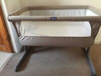 CHICCO NEXT TO ME CRIB used excellent condition