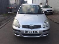 TOYOTA YARIS, 1.0 PETROL, 2003, ONE PREVIOUS OWNER