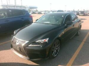 2014 LEXUS IS 250 F-SPORT PKG |1OWNER|PHONE|WARRANTY|NEW TIRES