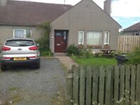 3 bed bungalow nr Inverurie to central Scotland
