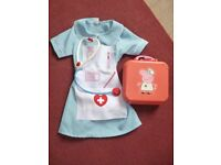 Nurse Fancy Dress 5-7 yrs and Peppa pig medical box/contents - Shipley