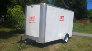 6 x 12 x 8 ft Continental Cargo Trailer