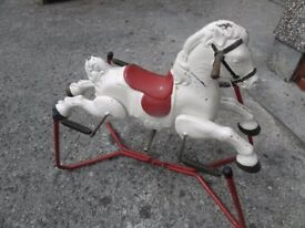 MOBO CHILDRENS ROCKING HORSE, IN A GOOD STABLE CONDION