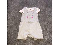 Baby Girl mothercare romper