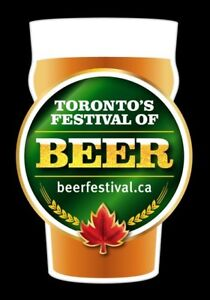 Selling 2 Toronto Beer Fest tickets