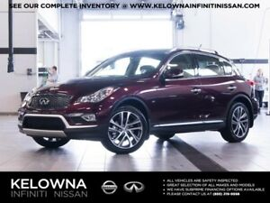 2017 Infiniti QX50 All-wheel Drive with Premium and Navigation P
