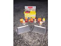 Rare shopkins burger queen junk food collection playset As New