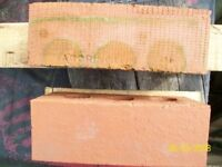 red bricks 'accrington reds' 630 as delivered careful stacked