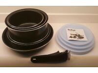 Tefal Ingenio 10pc non stick cookware set BRAND NEW.