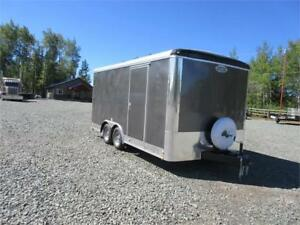 """16 FT ENCLOSED CARGO TRAILER W/ 6"""" EXTRA HEIGHT"""