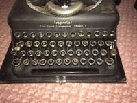 """Vintage Imperial Model T Typewriter """"The Good Companion"""""""