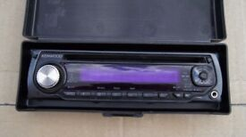Kenwood Car Stereo Front Unit
