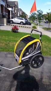 Bike bicycle trailer stroller