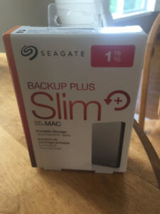 Seagate Backup Plus Slim+ 1TB Portable Hard Drive