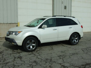2008 Acura MDX Elite - Nav/Camera - Service Records