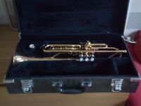 YAMAHA YTR43335G B FLAT TRUMPET FOR SALE £200