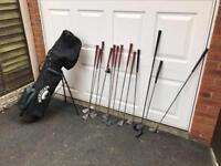 Men's golf clubs right handed