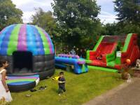 BOUNCY CASTLE HIRE DISCO DOME HIRE PARTY HOUSE HIRE