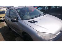 2002 PEUGEOT 206 STYLE, 1.4 HDI, BREAKING FOR PARTS ONLY, POSTAGE AVAILABLE NATIONWIDE