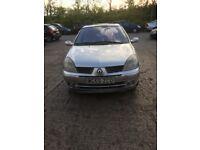 2005 Renault Clio 1.4 dynamique , spares or repair. Cat c repaired.