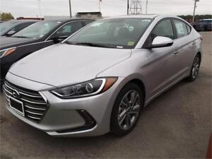 2017 Hyundai Elantra GLS-AUTO-SUNROOF-REAR CAM-ONLY 16KM