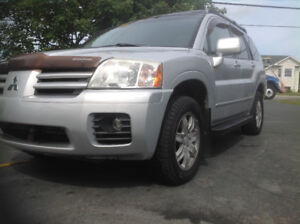 2005 MITSUBISHI ENDEAVOUR LIMITED LOW KM ONLY $2500 FIRM