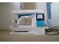 Husqvarna Viking Opal 670 Sewing Machine (Like new)