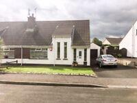 COLERAINE Ballycairn 3 bed semi detached house for rent - start October