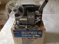 Boots Vintage Super 8 Movie Projector