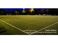 Friday casual football game close to Archway/Holloway road - need players
