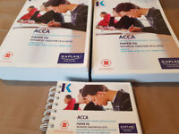 ACCA P6 Study Text, Revision Kit and Pocket Notes by Kaplan