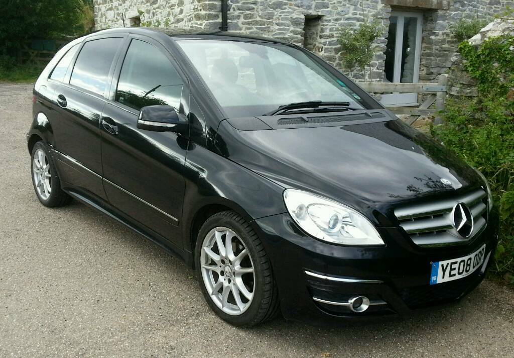 mercedes b180 cdi diesel automatic in ashburton devon. Black Bedroom Furniture Sets. Home Design Ideas