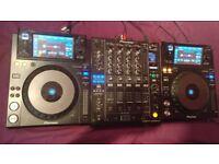 PIONEER XDJ-1000 (pair) & PIONEER DJM-900 NEXUS