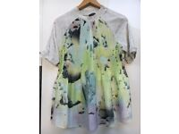 New Zara jersey and print top/T-shirt - Large