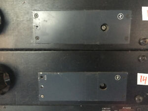 NEVE 1272 modules in rack .