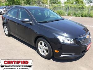 2012 Chevrolet Cruze LT Turbo 1SB ** REMOTE START, BLUETOOTH, CR