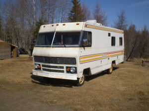 RV FOR SALE - AS IS