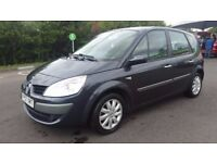 2007 RENAULT SCENIC 1.6 AUTOMATIC IN TOP CONDITION. 1 YEAR MOT. HPI CLEAR. PREVIOUS MOTs AVAILABLE