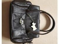 Beautiful dark brown leather Radley bag