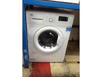 Beko 7kg washing machine 1400 spin. 12 month gtee