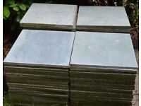 square patio paving slabs stone grey 500mm x500mm x 20mm