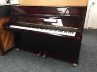 Hyundai upright piano dark mahogany gloss 12 month guarantee