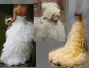 Wedding dress size 2-4